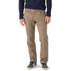 Patagonia M's Flannel Lined Straight Fit Jeans Regular Ash Tan